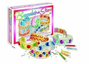 Sentosphère - Loisir créatif - Bracelets de stars 8 pièces