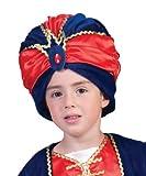 Kostüm Sultan Jamaal Kind Größe 140 Kinderkostüm Flaschengeist Karneval Fasching rot blau Pierro's