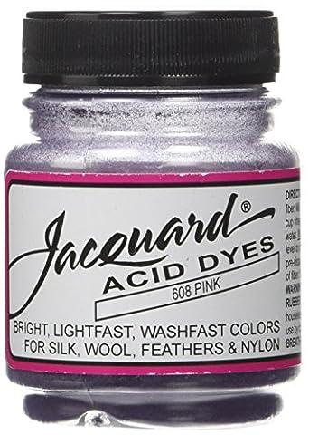 Jacquard Products Pink-Jacquard Acid Dyes, Acrylic, Multicolour