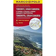 Tenerife, Gran Canaria, La Gomera, La Palma, El Hierro, Lanzarote, Fuerteventura