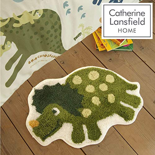 Catherine Lansfield Kids Tappeto scendiletto per bambini motivo dinosauri