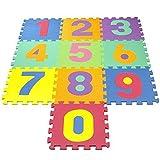 XNPP Stuoie di splicing ecologico alfanumerico puzzle baby crawling pad eva gioco per bambini bubble30 * 30 * 1 , number , 30*30*1