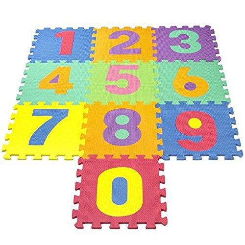 Preisvergleich Produktbild XNPP Spleißen matten umweltfreundliche alphanumerische puzzle baby krabbeln pad eva kinderspiel bubble30 * 30 * 1 , number , 30*30*1