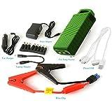 20000mAh Portable Car Jump Starter batteria e caricabatterie portatile Power Bank con alimentazione USB e torcia a LED per moto camion barca Automotive, protezione avanzata di sicurezza
