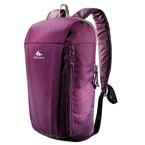 QUECHUA NH100 Country Walking Zaino 10 litri, Dark Purple
