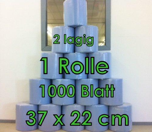 Preisvergleich Produktbild 1000 Blatt 2Lagig Putzrolle Werkstattrolle 36x22 von MD