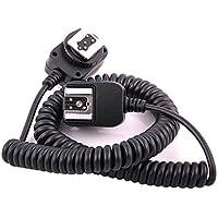 Pixtic - Câble extension TTL SC-28 1m pour Flash Nikon SB-900, SB-800, SB-600, SB-80DX, SB-28DX, SB-28, SB-27, SB-26, SB-25, SB-24, SB-22