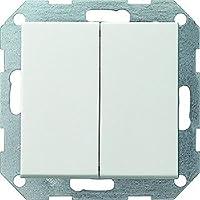 Gira 012503 System 55 - Interruptor, color blanco mate