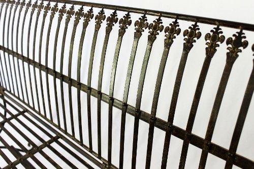 DanDiBo Bank Finca 063-JO 3-Sitzer aus Metall