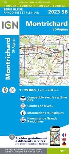 Montrichard - St-Aignan 2014: IGN2023