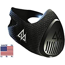 Trainin gmask Entrenamiento Mask 3.0Entrenamiento Máscara, unisex, Training Mask 3.0, negro, M/70-120kg