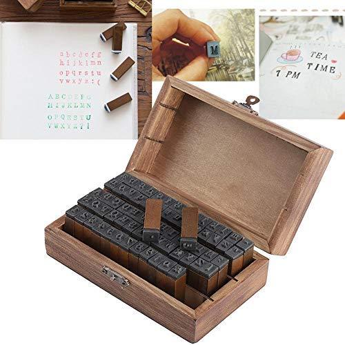 70 Pz/set francobolli legno multiuso,sigillo lettera inglese alfabeto,lettera legno gomma simbolo vintage francobollo per bambini Album fotografico Scrapbook Lettera Diario Carte Tag