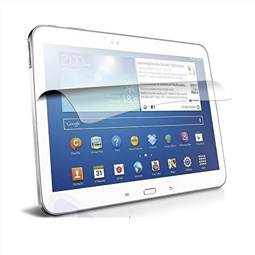 LEDELI Displayschutzfolie Quality Display Schutzfolie Schutz Displayfolie Displayschutz Screen Protector Folie ( für Samsung Galaxy Tab 3 10.1)