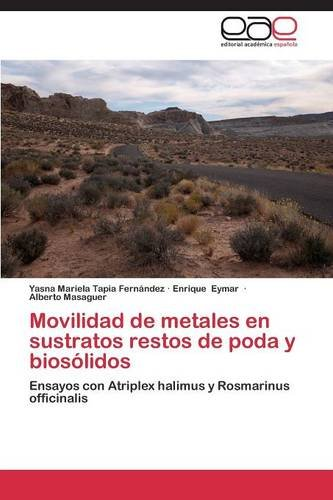 Movilidad de metales en sustratos restos de poda y biosólidos por Tapia  Fernández Yasna Mariela
