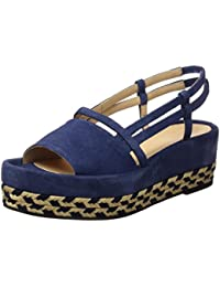 Castañer Nani/335 (Young Color) Jeans, Alpargatas para Mujer, Azul (Young Color / Jeans), 40 EU