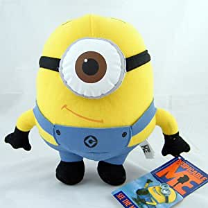Despicable Me The Movie Minion STEWART ONE-EYE 9 inch Stuffed Plush Doll Soft Toy