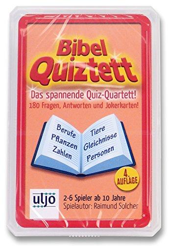 Uljö °° Bibel-Quiztett, spannend - optimal für unterwegs!