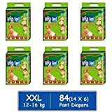 Fresh Feel Baby Pant Diapers (XXL) -84 Counts/Pack of 6