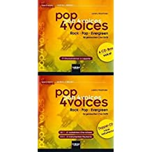 pop 4 voices: Rock - Pop - Evergreen. CD-Gesamtpaket (4er CD-Box vokal und Doppel-CD vokal-instrumental)