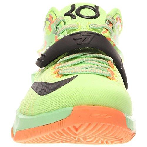 Nike KD VII liquid lime black viper green sunset glow 304