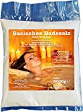 Basisches Badesalz 5000g Bad Salz Spa Entspannung 5kg Badezusatz Nachfüllbeutel