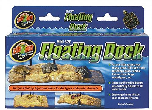 Zoo Med Turtle Dock -L- 20cm x 41cm Einzigartige Schwimminsel für im Wasser lebende Tiere