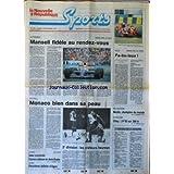 NOUVELLE REPUBLIQUE SPORTS (LA) [No 163] du 09/09/1991 - LE GRAND D'ITALIE / MANSELL - MOTO / GRAND PRIX DU MANS - FOOT / MONACO - SKI NAUTIQUE / MARTIN - ATHLETISME / OTTEY - TENNIS / SELES COURONNEE - CONNORS ECHOUE - RUGBY / AGEN