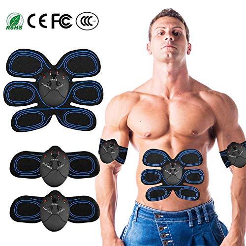 Moonssy k2-elettrostimolatore muscolare ems,cinghia tonificante addominale con,addominali attrezzi abs trainer,ems addominali trainer elettrico per braccia elettrostimolatore glutei