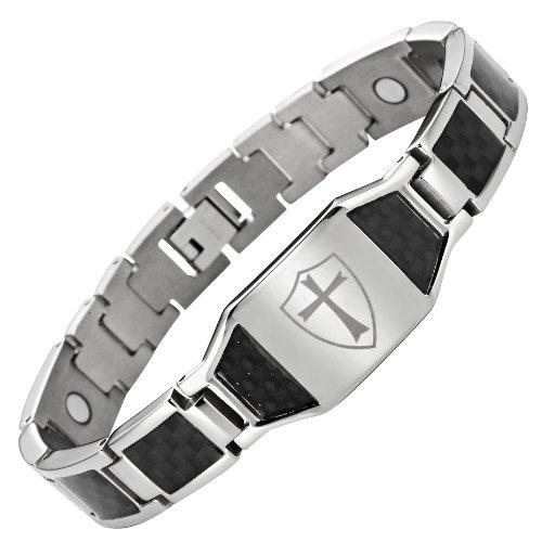 masonicman-nuovo-bracciale-da-uomo-in-titanio-con-inserti-in-fibra-di-carbonio-nero-con-cavalieri-te