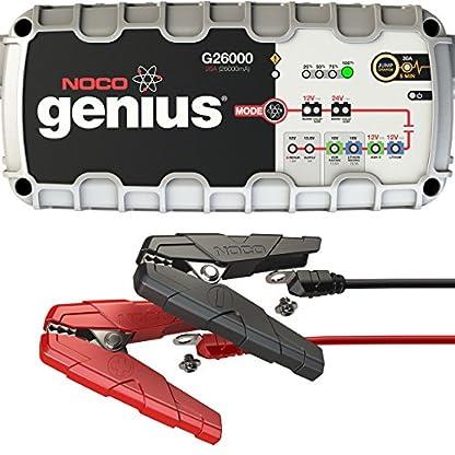 51iqxLnl1sL. SS416  - Cargador de batería Noco G26000,para todos baterías de ácido, 12V/24 V,26A