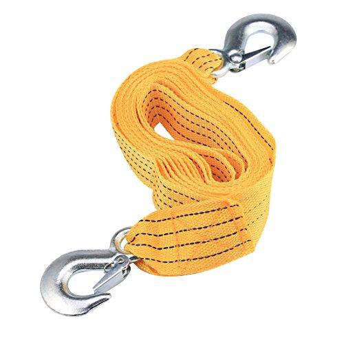Andux Zone 4M gialla Car rimorchio Rope Rescue Corda con ganci TCS-01