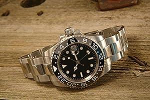 PARNIS PARNIS Modell 2034 0732066354147 - Reloj para hombres, correa de acero inoxidable de PARNIS