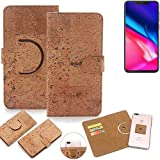 K-S-Trade 360° Cover cork Case for Cubot P201 | Smartphone