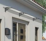 Palram Vordach, Regenschutz, Überdachung Neo 2700 klar // 273x86 cm (BxT) // Pultvordach und Türüberdachung