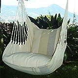 Holzenplotz Hängesessel Hängematte Hängestuhl aus Baumwolle mit 2 Kissen 4 Größen lieferb. Größe XXL 181