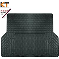 S-Tech Automotive LN-RBT-1089 Bmw 3 Series Saloon 98-05 Durable Rubber Boot Liner Heavy Duty Luxury Trunk Mat Protector Attractive Design Washable Trimmable Plus Free Keeg Trading Pen