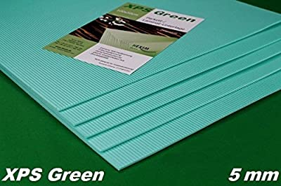 10 m2 Trittschalldämmung Dämmung Boden für Laminat Parkett, 5mm - XPS Green von HEXIM - TapetenShop