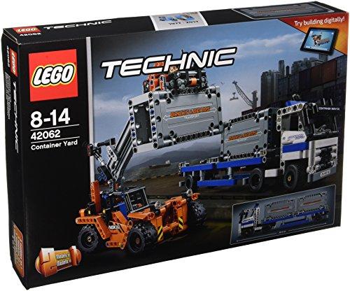 LEGO - 42062 - Technic - Jeu de construction - Le Transport du Conteneur