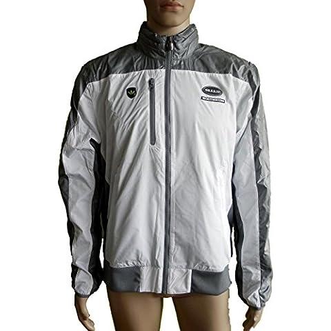Adidas uomo sport-per il tempo libero da Porsche 911 S Wind Breaker, White, G72376, L, nuovo