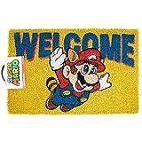 Super Mario Welcome Door Mat Multi-Colour 60_x_40_cm
