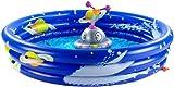infactory Kinder Planschbecken: Erlebnis-Planschbecken mit rotierendem Wassersprinkler (Schwimmbecken)