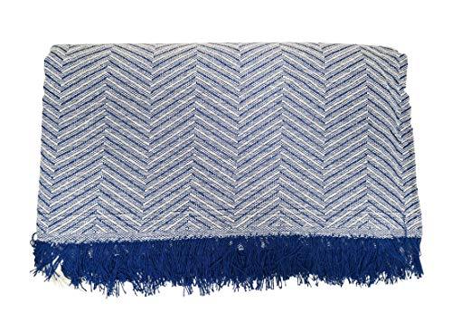ADP Home - Plaid/Colcha Multiusos Zigzag Ideal Cama