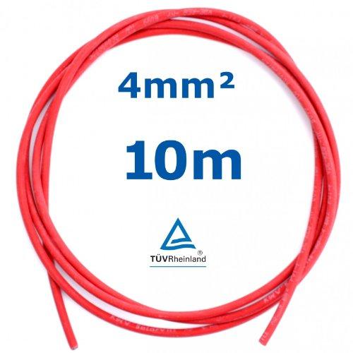 aad49e2a3ed4b Test 10 m Reiter-Solar SK4010 Solarkabel 4 mm - PV Verbindungs-Kabel ...