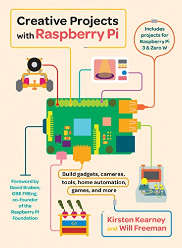 Creative Projects with Raspberry Pi por Kirsten Kearney