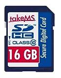 takeMS Class 10 SDHC 16GB Speicherkarte