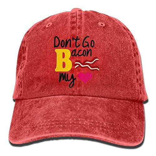 65b12db8f1e8d NFHRREE Hat Don t Go Bacon My Heart Denim Skull Cap Cowboy Cowgirl Sport  Hats