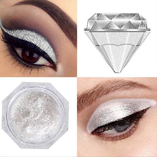5006b0de487 ARTIFUN Brillante Glitter Sombra de Ojos Metalizado Maquillaje Hornear  Sombra de Ojos ( 3)