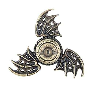 Game of Thrones Dragon Eye Gold Spinner Metal Anti Stress Toy