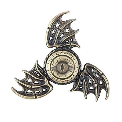 Game of Thrones Dragon Eye Gold Spinner Metal Anti Stress Toy