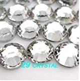 Pack of 1000 x Crystal Flat Back Rhinestone Diamante Gems 4mm